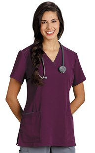 Scrubs-Premium-Marvella-by-White-Cross |  | Marvella Contrast Trim Scrub Top