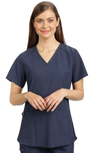 Scrubs-Premium-Med-Couture-Touch |  | Med Couture Touch V-Neck Shirt Tail Scrub Top