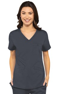 Scrubs-Premium-Med-Couture-Touch |  | Med Couture Touch Three Pocket Scrub Top