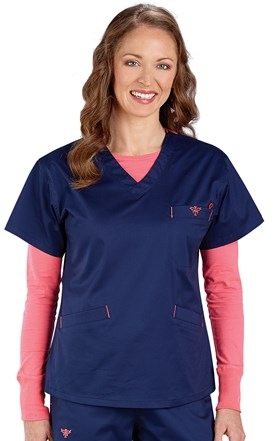 Med Couture Classic Scrub Top Image