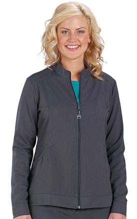 Healing Hands Fashion Stretch Scrub Jacket Image