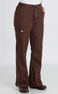 Scrubs-VAC-Exclusives-Paw-Trim-Collection |  | Pure Essentials PLUS Paw Trim Flare Leg Scrub Pant
