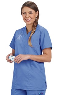 Scrubs-Classic-Cherokee-Workwear |  | Cherokee Workwear Four Pocket Scrub Top