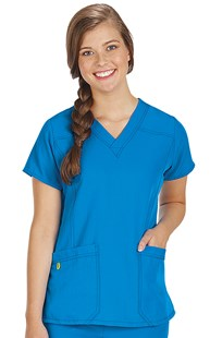 Scrubs-Premium-WonderWink-4-Way-Stretch |  | WonderWink 4-Way Stretch Sporty Two Pocket Scrub Top