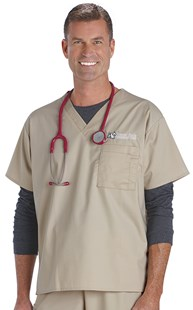 |  | WonderWORK UNISEX Scrub Top