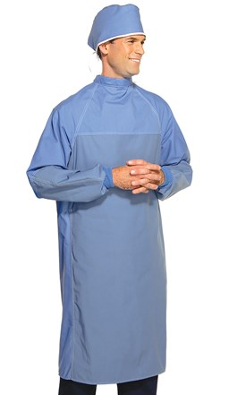 Barrier Front Veterinary Surgery Gown Image