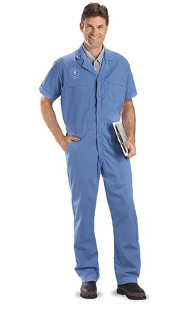Short Sleeve Coveralls Image