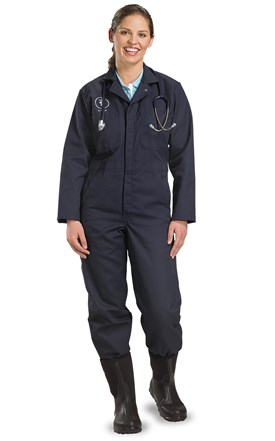 Long Sleeve Coveralls Image
