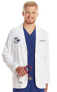 Workwear-Professional-Lab-Coats | Healing Hands | Men's Performance Consultation Jacket