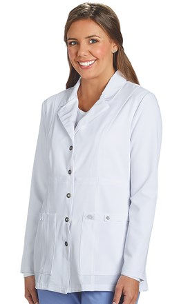 Dickies Extreme Stretch Snap Front Lab Coat Image