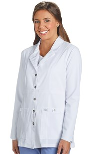Workwear-Lab-Coats |  | Dickies Extreme Stretch Snap Front Lab Coat