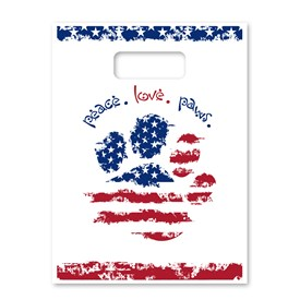 Supply Bags - Patriotic Paws Image