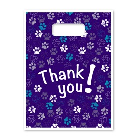 Supply Bags - Purple Paws Image