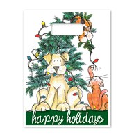 Rx-Supplies-Bags-Seasonal-Bags |  | Full Color Bags - Happy Holidays