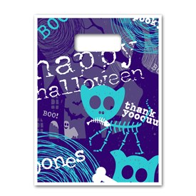 """Full Color Bags - Happy Halloween 9""""x13"""" Image"""