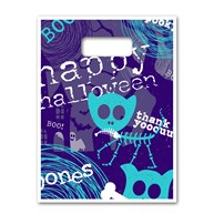 "SeasonalBags |  | Full Color Bags - Happy Halloween 9""x13"""
