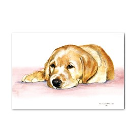 25 Lab Puppy Note Cards Image