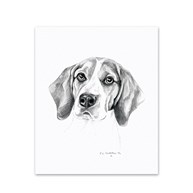 Clearance |  | 5 Beagle Note Cards