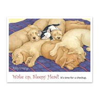 CustomLaserReminderCards4Up |  | 400 Wake Up 4-Up Postcards