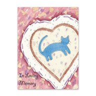 Rx-Supplies-Client-Communications-Sympathy-Cards |  | Sympathy Folding Cards In Loving Memory Cat