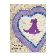 FoldingSympathyAndNotecards |  | Sympathy Folding Cards In Loving Memory Dog