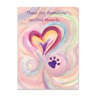 Rx-Supplies-Client-Communications-Sympathy-Cards |  | Sympathy Folding Cards Their Joy Remains