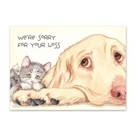 Rx-Supplies-Client-Communications-Sympathy-Cards |  | Sympathy Folding Cards We're Sorry