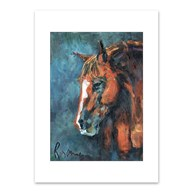 Rx-Supplies-Client-Communication-Notecards |  | Premium Folding Note Cards Horse