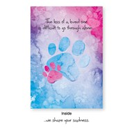 Rx-Supplies-Client-Communications-Sympathy-Cards |  | VAC PREMIUM Sympathy Card Paws
