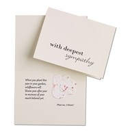 |  | Blooming PAW Sympathy Cards & Envelopes