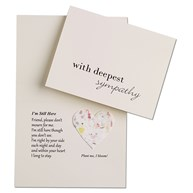 |  | Blooming HEART Sympathy Cards & Envelopes
