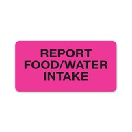 MedicalRecordStickers |  | Report Food / Water Intake