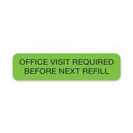 Rx-Supplies-Labels-and-Stickers-Stickers |  | Office Visit Required Before Next Refill