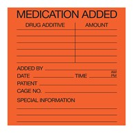 Rx-Supplies-Labels-and-Stickers-Accessories |  | 3x3 Medication Added Labels
