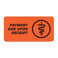 InvoiceStickers |  | PAYMENT DUE UPON RECEIPT Invoice Sticker