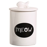 Rx-Supplies-Vials-and-Containers-Treat-Jars |  | Ceramic MEOW Treat Jar